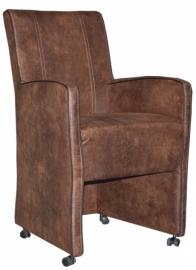 Milan met Arm steun een landelijke stoel met wieltje en comfort nu in de actie de laagste prijs van NEDERLAND.