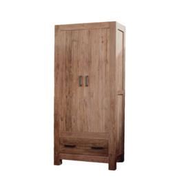 Oriental 2 deuren kast model C 100 cm breed.    Deze serie gemaakt van oud gerecycled Teak hout
