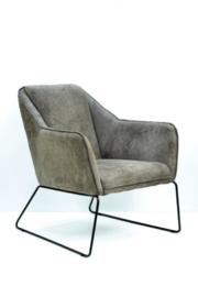YUNO fauteuil leverbaar in div.stofen  en lederlook en leder.  voor de laagste prijs