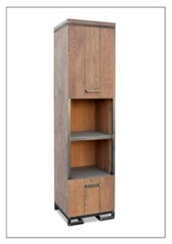 Boekenkast 1104 van 1100 serie  KOOPMANS Meubelen met industriële poten voordelig bij Internetmeubel vraag een offerte aan