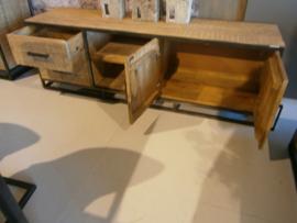 MMB170 CM Tv-meubel model MMB170 Mango /Metaal 170 cm breed voor rrn scherpe prijs