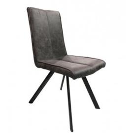 SOHOTO WOONKAMERSET  dressoir 180 cm. + Vitrinekast + eettafel 140 cm+ 4 stoelen compleet tegen een actie prijs