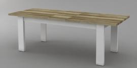 COVENTRY landelijk eettafel uitschuif 190 cm uitschuif naar 229 cm . lang SUPER DEAL AANBIEDING
