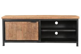MMB021 Tv-meubel naturel 140 cm breed voor een actie prijs