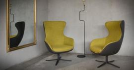 PEGGY fauteuil in stof en leer van HET-ANKER tegen de laagste prijs.en vraag nu een offerte aan.