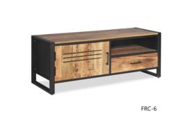 FCR-1 prachtig dressoir Mangohout afmeting 180 cm NU VOOR EEN ACTIE PRIJS