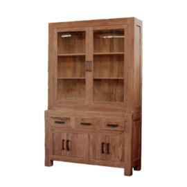 Oriental H Buffetkast model 145 cm breed. Deze serie gemaakt van oud gerecycled Teak hout