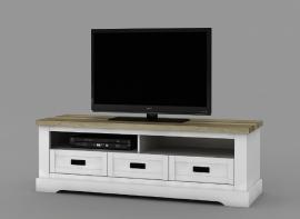 COVENTRY landelijk tv-meubel 155 cm. breed SUPER DEAL AANBIEDING