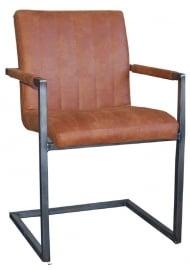 ROMY Luxe De stoel is geschikt als bureau-, lounge-, eetkamer-,project-, vergaderstoel in TOP TOLEDO LEER voor de laagste prijs
