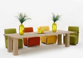 632 model eet of vergadertafel van Koopmans lengte 200/220/240/260//280 tot 300 cm voordeligst bij Internetmeubel.