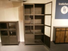 MMB002| model MMB002 metaalkast kabinet 2 deuren open super aanbieding