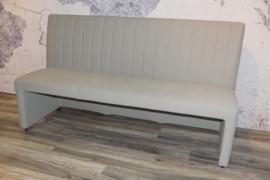 MICK  BANK leverbaar 130 cm/140 cm/170 cm breed in stof lederlook/colorado of leder.Prijs van af