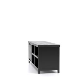 Cod Collectie 1 Deur TV Meubel 160x40x50 Zwart  nu voor een actie prijs