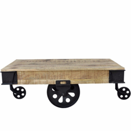 MMB 100 model CART COFFEE TABLE breed 79 cm x 160 cm en 43 cm hoog