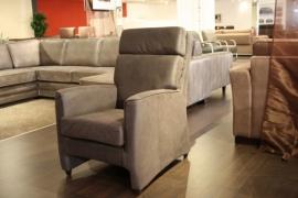 SIMON fauteuil in de 3 kleuren   madagaskar bruin,grijs en antraciet prijs van af €.199,=