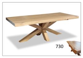 730 eettafel massief eiken mooi en moderne vergader of eettafel bij ons voor de laagste prijs