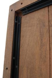 Xandra MANGO eettafel hardhout metaal onderstel X leverbaar 180 cm,200 cm 240 cm,260 cm  prijs van af