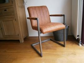FLEUR Luxe eetkamerstoel of vergaderstoel in de stof RELAX voor de laagste prijs