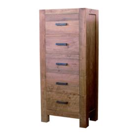 Oriental model E Ladenkast 70 cm breed. Deze serie gemaakt van oud gerecycled Teak hout en ook in de actie