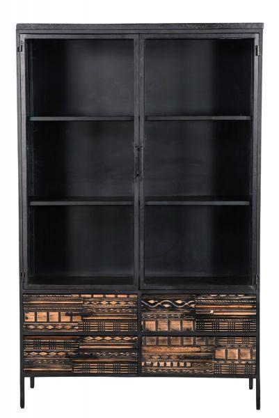 MALIBU 2 deuren vitrinekast  van I-catchers voor een speciale prijs