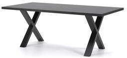 COD DINING TABLE 240 - ZWART eettafel van blad mango zwart