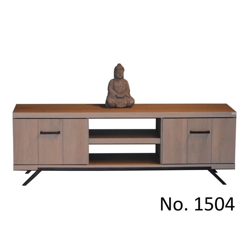 1504 van 1500 serie | Tv-meubel model 1504  Vraag een offerte aan voor de Laagste prijs