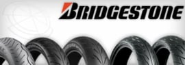 Voorband 110/70hr17 RS10f Bridgestone band 300-390 Classes