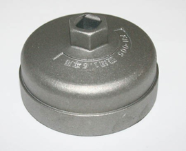 Oliefilter sleutel Honda 64mm en 65mm (aluminium) 14 vlakken
