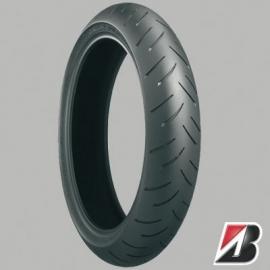 Motorband 120/70zr17 bt015fm bridgestone voorband  (b1207017vr) (B0000) VERVANGEN door de S20fe !!