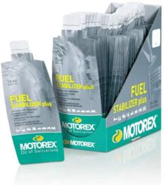 motorex ETHANOL Benzine Stabilisator ( in zakjes) voorkomt problemen door de BIO toevoeging in de benzine, Motorex FUEL Stabiliizer Plus
