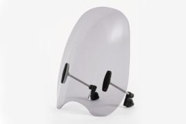 Windscherm Custom (ZONDER Montageset!) Breed 43cm Totale hoogte 49cm  (Getint)