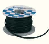 Bougiekabel 5mm pvc (bromfiets) (prijs is per meter)