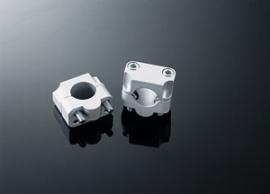 Stuurverhogers(adaptors) van dun(22mm) naar dik(28.6mm) stuur (+45-350)