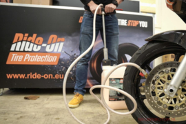 Banden Anti lek en balanceren GELRide-On sealant & balanceergel voor Motorbanden