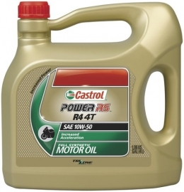 10w50 MOTOROLIE Castrol Power Rs Racing 4 Liter (volsyntheet)