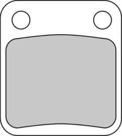 Ferodo Remblokken Suzuki DR125s (82/00) VOOR (ptip250.)3vd [nmve]