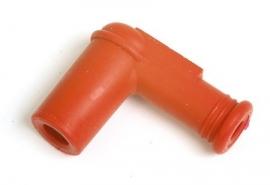 BOUGIEDOP rubber rood haaks (voor bougies zonder schroefdraaddopje)