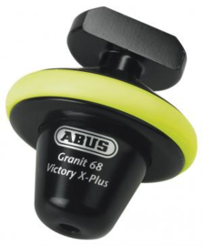 ART4 schijfrem SLOT Abus VICTORY X-PLUS 68 YELLOW, HALF [nmh6E]