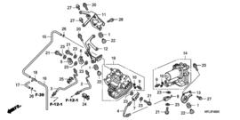 Honda CBR1000rr ABS 2009 (achter) (honda abs) [c0920]
