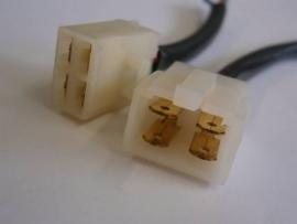 Multistekkerset 4 pins groot model