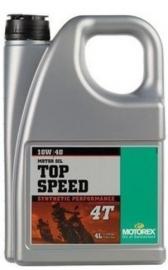 ...TIP...10w40 Motorolie Motorex TOP SPEED (deel syntheet) Jaso-MA sL (sJ sH sG) 4 liter (m10w40ts)
