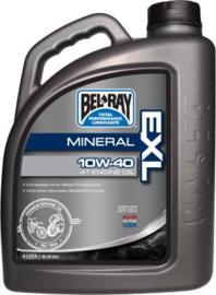 10w 40 MOTOROLIE Bel-ray EXP semi-synthetische motorolie Belray 4 Liter