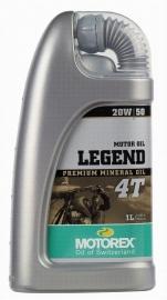 20w50 MOTOROLIE Mineraal Motorex Legend 1 Liter (m20w50Lg)