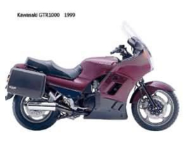 Kawasaki GTR1000 Concours (/) mgm 061686 GTR1000