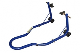 MOTORBOK achter blauw (inclusief rubber steunen)