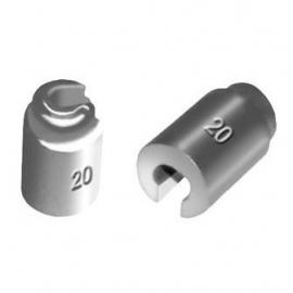 spaaklood 10 gram  (zacht) wiel balanceerlood (balooLRPR17)