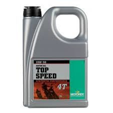 15w50 MOTOROLIE Motorex Top Speed 4 Liter (deel syntheet) (m15w50ts)