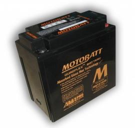 accu Motobatt MBYZ16HD (met verbeterde accupool bevestiging)