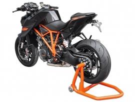 """MOTORBOK achter Enkelzijdige Motorbok Model """"Peter"""" oranje, ook zwart of rood en Rechts(alleen in zwart) [2011zzbvk]"""