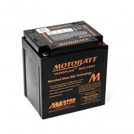 motor accu Yuasa YTX30L (30Ah) -->> MOTOBATT agm (32Ah) ZWART!
